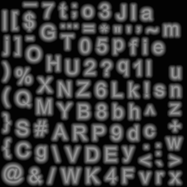 Ascii schrift generator